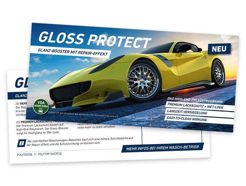 GlossProtect Flyer DIN Lang